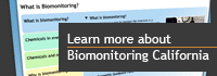 Biomonitoring California Guide Banner
