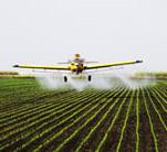 Ariplane spraying filed