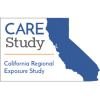 CARE Study logo, showing California in outline, with words: California Regional Exposure Study