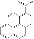 Chemical structure of 1-nitropyrene