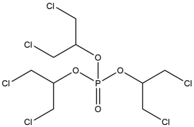 Chemical structure of T D C P P