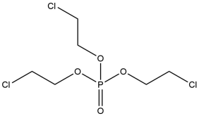Chemical structure of T C E P