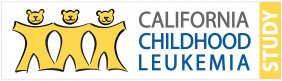 Logo shows three young bears in yellow color standing in a row holding hands, with the name of the study shown in blue